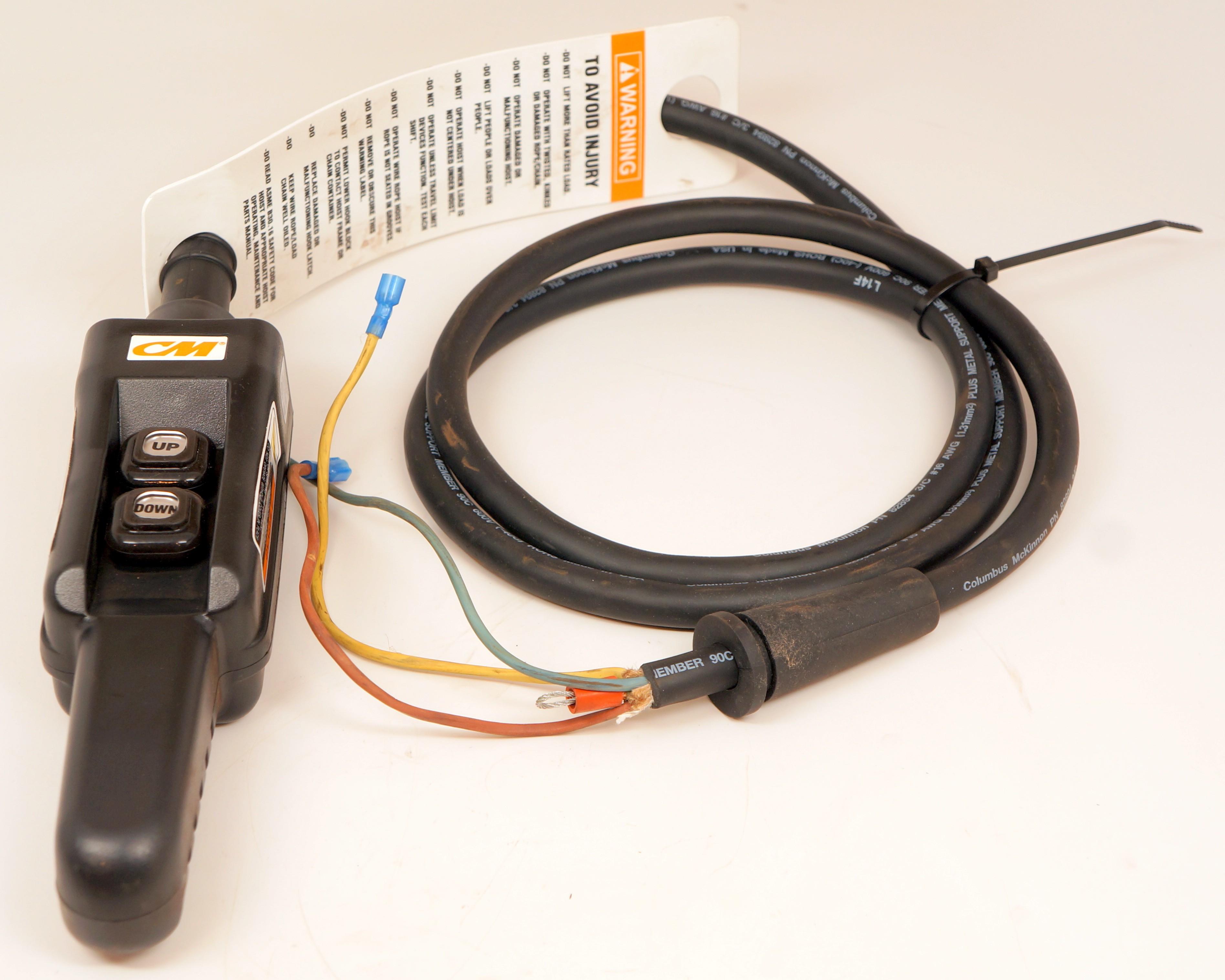 29333 cm pendant control station 2 button single speed 6 foot 29333 cm pendant control station 2 button single speed 6 foot cord aloadofball Choice Image