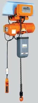 AccoLift Electric Chain hoist with motorized trolley