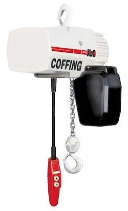 Coffing JLC Electric Chain Hoist Three Phase 20 ft. Lift 1/4 ton 16 fpm