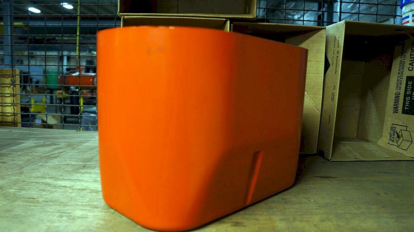 36025C - MTR HOUSING COVER Orange