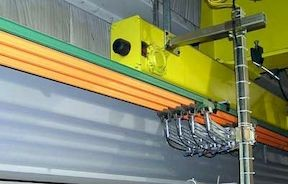 50 ft Electrical Conductor Bar System for Underhung / Monorail Cranes