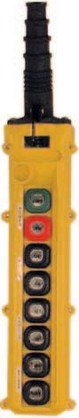 8 Button L Series L8 Push Button Pendant Station by Duct-O-Wire