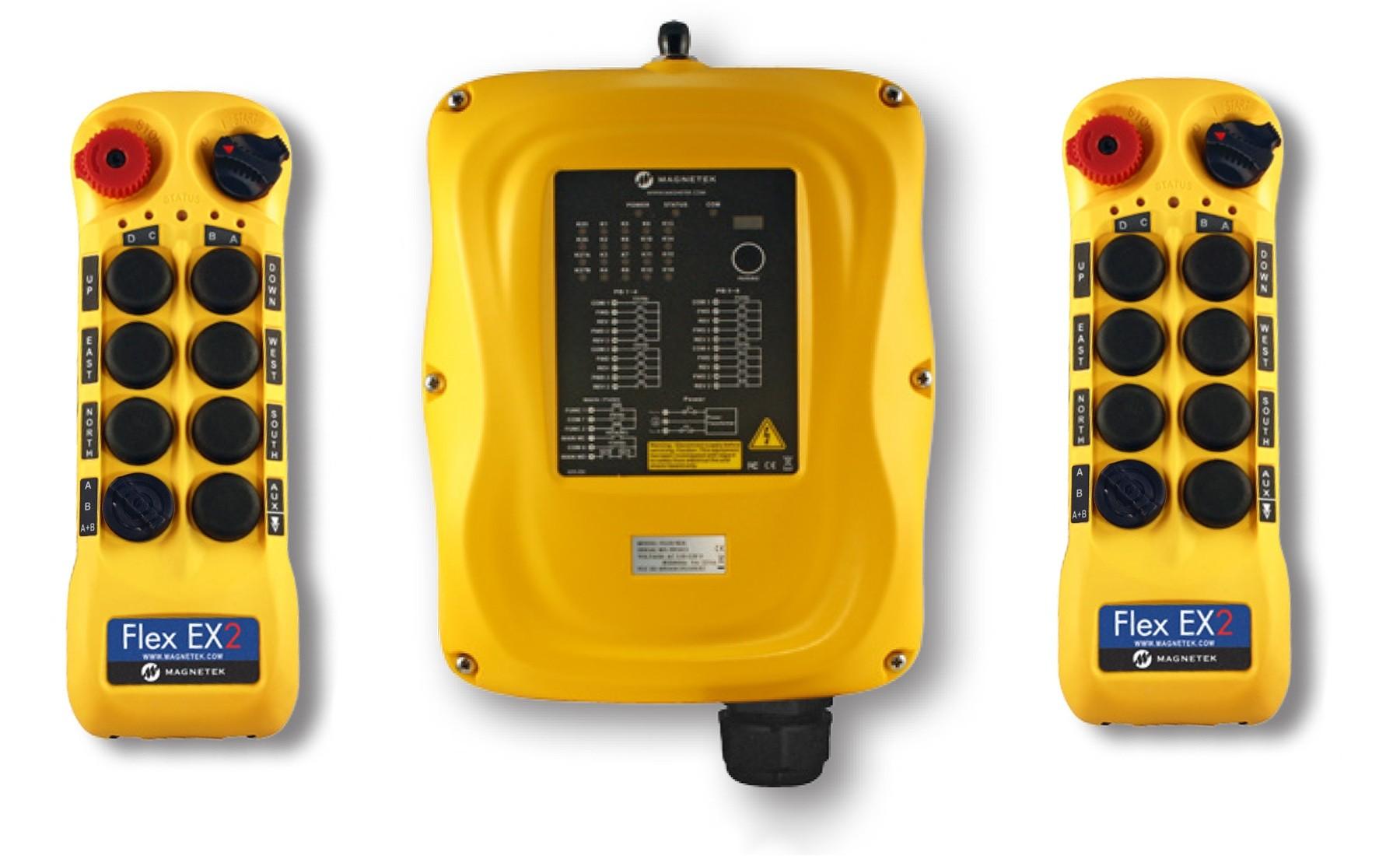 New Enrange Flex 8EX2 System, 4-Motion, 2-Speed, 2 Transmitters by Magnetek