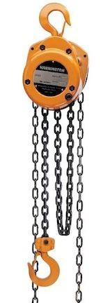 CF 2 ton Hand Chain Hoist by Harrington 10 ft. of Lift