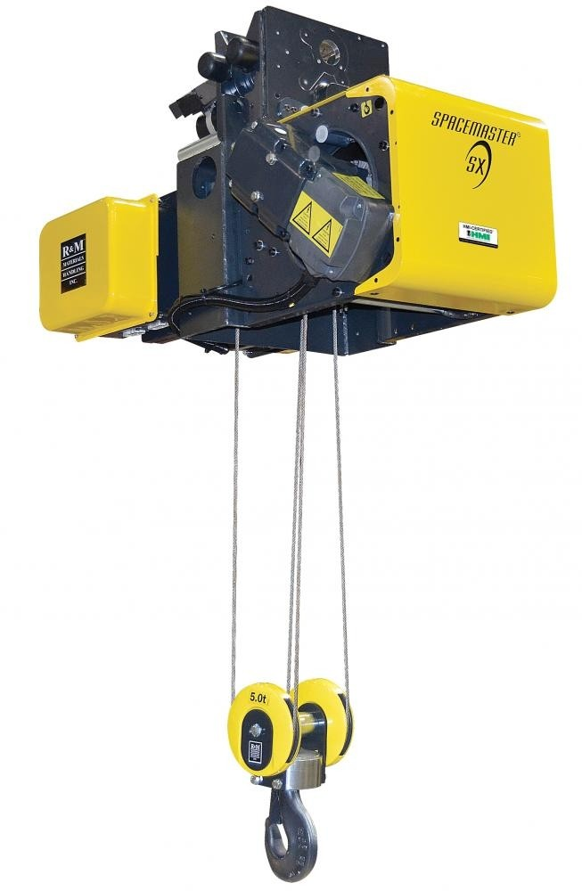R&M Spacemaster SX Normal Headroom Wire Rope Hoist