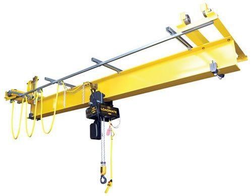 1 ton QLP Single Girder Under Running Push Crane Kit by R&M-16 ft/min-20 ft.