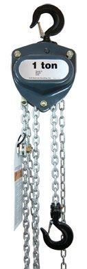 RM Series II Manual Chain Hoist 1 ton model pictured