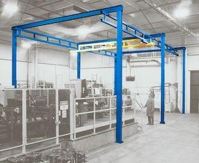 1/2 Ton Free Standing Workstation Crane