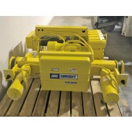Acco Wright Work-Rated 10 Ton Double Girder Electric Wire Rope Hoist 24 ft Lift H4 Duty
