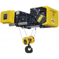 10 Ton R&M Spacemaster SX Low Headroom Wire Rope Hoist - 29ft.6in Lift 20/3.3fpm