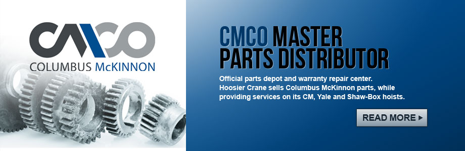 CM Columbus McKinnon Master Parts Distributor