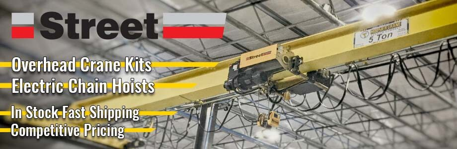 Overhead Crane Kits and Electric Chain Hoists by Street Crane Sale